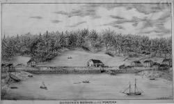 Deering's bridge in the forties