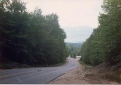 Katahdin from Golden Road, 1987