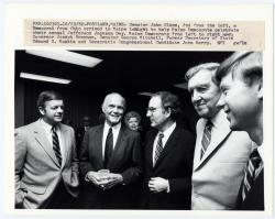 John Glenn with Maine Democrats, Portland, 1982