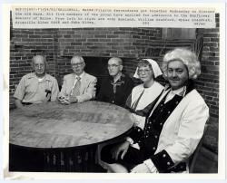 Pilgrim descendents, Hallowell, 1982