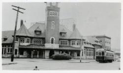 Grand Trunk Station, Portland, 1938