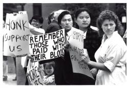 Tiananmen Square Protests, Portland, 1989