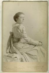 May Fellows, Skowhegan, ca. 1890
