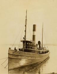 The Towboat Charles P. Greenough, ca. 1913