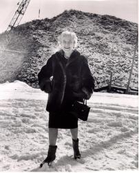 Margaret Chase Smith campaigning for President, New Hampshire, 1964