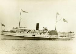 Passenger Steamer S.S. Portland, ca. 1895