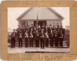 Grand Army of the Republic members, Caribou, 1898