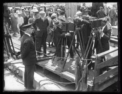 Capt. MacMillan departure, Wiscasset, 1925