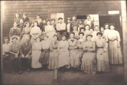 Fish Cannery workers, Brooklin, ca. 1910