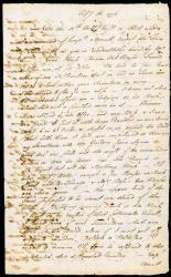 Letter describing burning of Falmouth, 1775