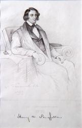 Henry Wadsworth Longfellow, ca. 1842