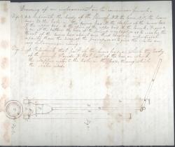 Jonathan Morgan plans for pump, 1823