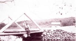Bridge over Cook's Brook, Houlton, 1945