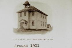 First Brooklin High School 1901