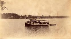 Steamer Mabel, Nickerson Lake, 1894