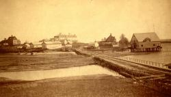 Ocean Avenue, Kennebunkport, ca. 1870