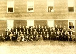 27th Maine Infantry, Arundel Grange Hall, ca. 1905