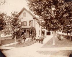 Home of George W. Richards, Houlton, 1897