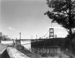 1936 Photograph of Waldo-Hancock Bridge