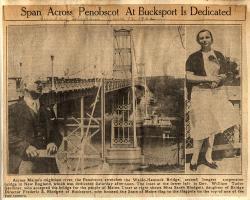 Waldo-Hancock Bridge Dedication, June 9, 1932