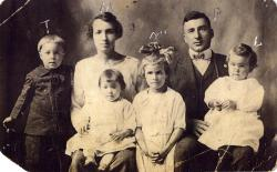 Surette Family, Mexico, 1919