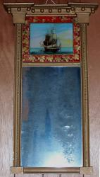 Heywood House mirror, Bucksport, 1820