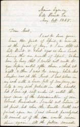 Rebecca Usher on Lincoln's assassination, Virginia, 1865