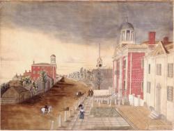 Maine State House, Portland, 1820