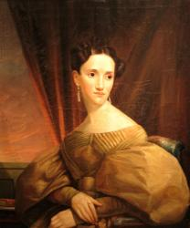 Portrait, Ann Cascoline Merrill Staples, ca. 1835