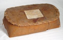 Birch bark box, Molly Ockett, circa 1770