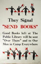 Book solitication poster, ca. 1917