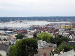From the Portland Observatory, 2004