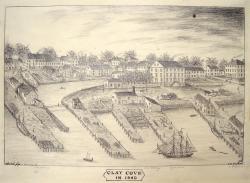 Clay Cove, Portland, 1840