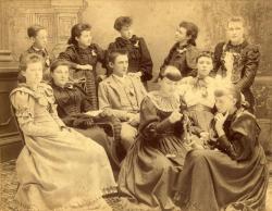 Bucksport Grammar School students, 1892