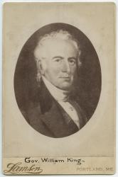 Gov. William King (1768-1852)