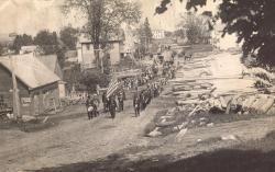 Memorial Day Parade, Hodgdon Mills, ca. 1910