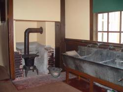 Laundry room in the Vassall-Craigie-Longfellow House