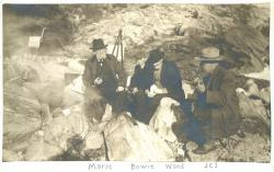 Brushians painting trip, ca. 1900