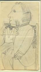 Portrait of Papa, Henry Wadsworth Longfellow
