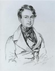 Portrait of Henry Wadsworth Longfellow, ca. 1835