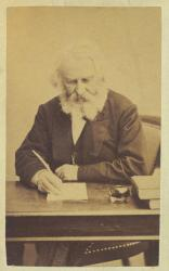 Henry Wadsworth Longfellow, Cambridge, ca. 1872