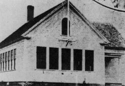 Longfellow School, Gorham, ca. 1900