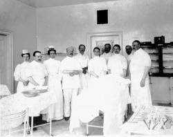 Surgical unit, Bangor General Hospital, 1899