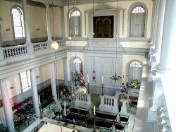 Interior of the Synagogue Today