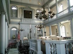 Interior of the Touro Synagogue