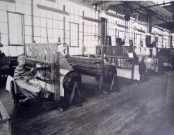 Weave Room, Worumbo Mill, ca. 1950
