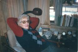 May Sarton, York, 1985