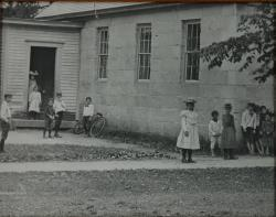 Village School, Fryeburg, ca. 1900