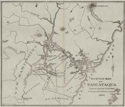 Sketch Map of Pascataqua