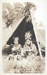 Penobscot Indian children, Indian Island, ca. 1920